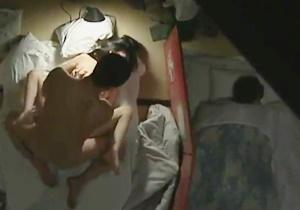 jav หนังโป๊มีเนื้อเรื่อง ห้องนอนมันเล็ก เลยต้องแอบนอนเย็ดกัน