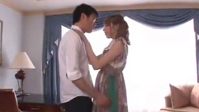 เอวีญี่ปุ่น นัดเย็ดน้องเมีย เธอสวยเกิห้ามใจ ให้พี่เขยปล่อยน้ำควยแตกในรูหี