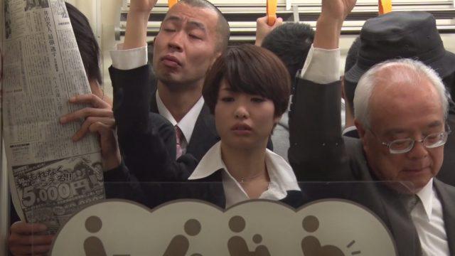 เอาควยเสียบหีสาวทอมบนรถไฟฟ้า หนังโป๊เอวีแนวแอบเย็ด