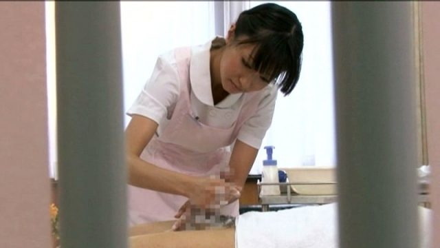 JapanAV หมอผู้หญิงใช้รูหีรีดน้ำควยให้คนไข้ แก้โรคเงี่ยนจนควยแข็ง