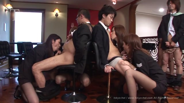 Japanese xxx JAV Tokyo Hot Casino Stewardess Hardcore Uncensored