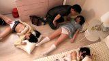 ลักหลับ พี่ชายแอบว่างยานอนหลับน้องสาวกับเพื่อน แล้วจับเย็ดหีแบบเซ็กส์หมู่