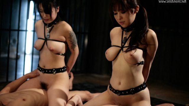 หนังญี่ปุ่นโป๊ แนวซาดิสท์จับมัดผู้หญิงให้ขึ้นค่อยกระเด้าควย