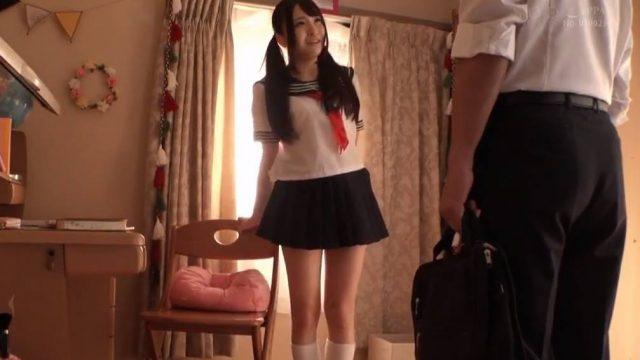 หนังโป๊ญี่ปุ่น นักเรียนสาวหลอกเย็ดครูสอนพิเศษ