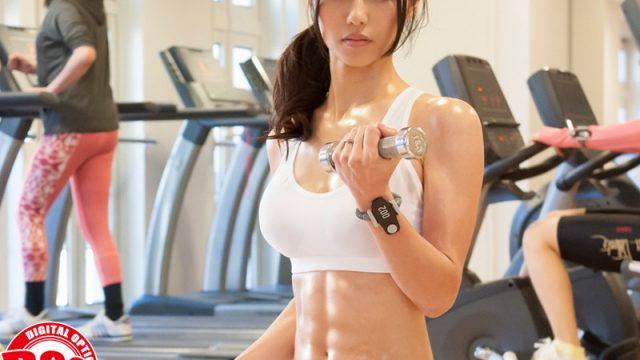 โรงยิมมั่วเซ็กส์ หญิงสาวชอบออกกำลังกาย ด้วยการแอบเย็ดกับผู้ชายในฟิตเนส