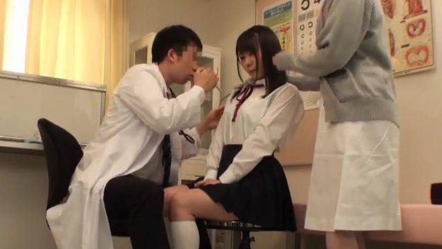 Jav ตรวจร่างกาย หมอตรวจสุขภาพนักเรียนหญิง ด้วยการทดสอบเย็ดหี