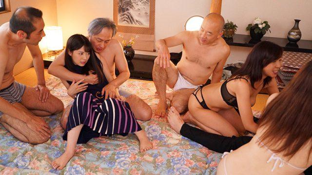ปาร์ตี้สวิงกิ้ง หนังโป๊ญี่ปุ่น สาวสวยหลงเข้างานนัดเย็ด สวิงกิ้งเซ็กส์หมู่