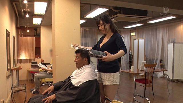 หนังโป๊ญี่ปุ่น แอบเย็ดช่างเสริมสวย